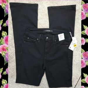 Joe's high rise curvy bootcut black jeans. Size 26